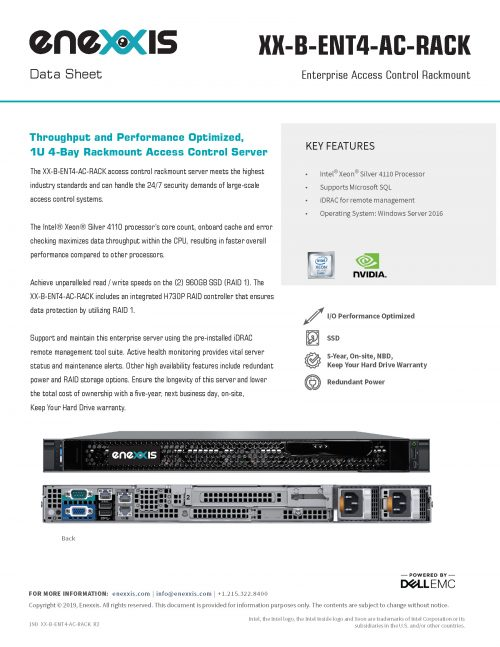 XX-ENT4-AC-RACK Server