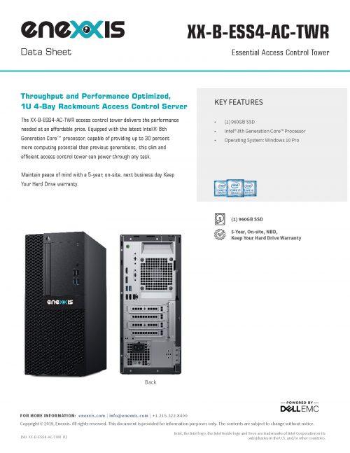 XX-ESS4-AC-TWR Server