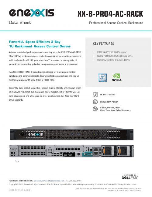 XX-PRO4-AC-RACK Server
