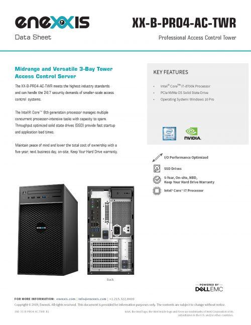 XX-PRO4-AC-TWR Server