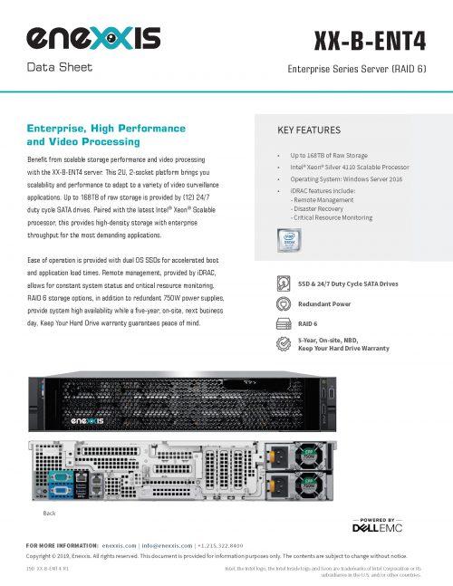 XX-B-ENT4 Server