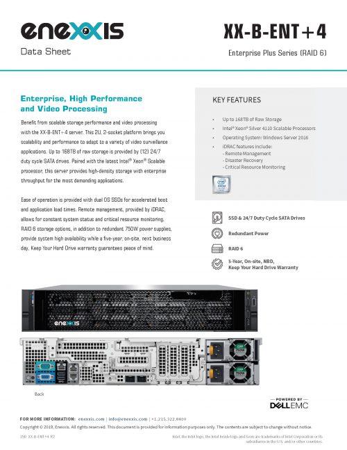 XX-B-ENT+4 Server