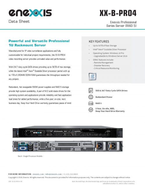 XX-B-PRO4 Server