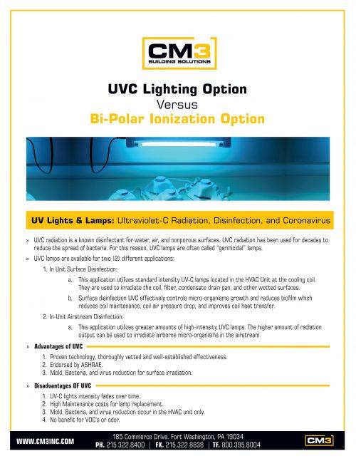 UVC Lighting vs NPBI Brochure