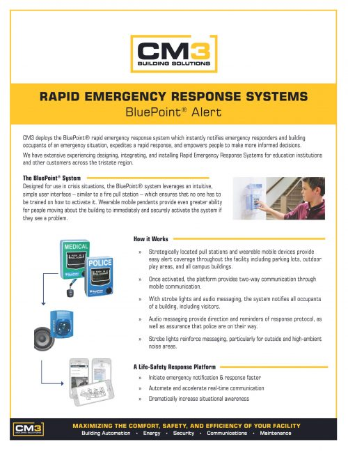 BluePoint Rapid Emergency Response Solution